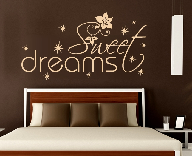 wandtattoos sweet dreams. Black Bedroom Furniture Sets. Home Design Ideas