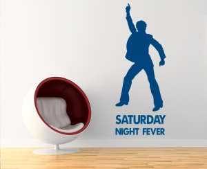 Wandtattoo - Saturday night fever Disco Club