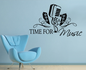 Wandtattoos - Time for music