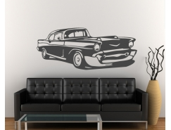Wandtattoo - US Car  Retro