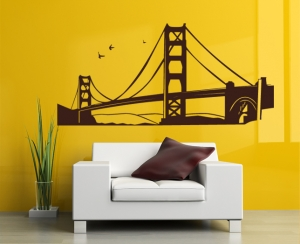 Wandtattoo - Golden Gate Bridge