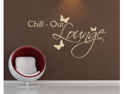 Wandtattoo - Chill out lounge Schmetterling