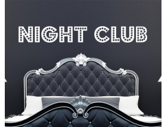 Wandtattoo - Night Club