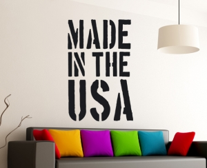 Wandtattoo -Made in the USA
